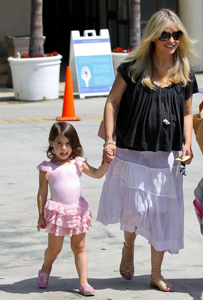 Sarah Michelle Gellar and Charlotte Prinze went to ballet class together in LA.