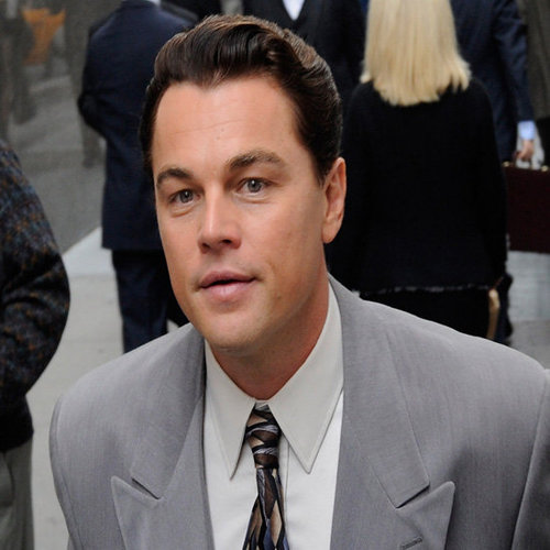 Leonardo DiCaprio Filming The Wolf of Wall Street (Video)