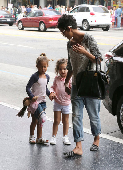 Halle Berry and Nahla Aubry Have a Matinee Playdate