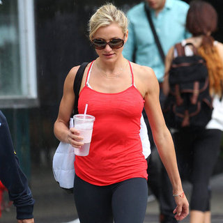 Cameron Diaz With Her Trainer in NYC | Pictures
