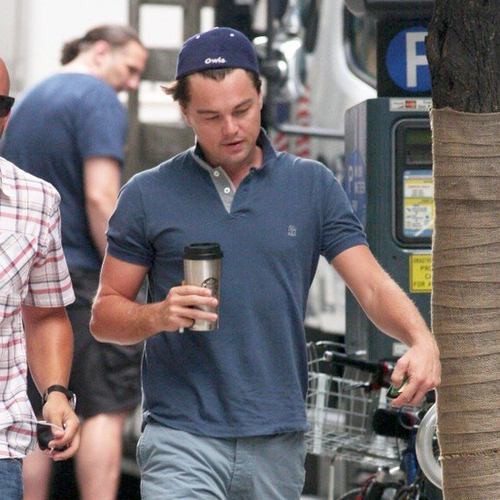 Leonardo DiCaprio on The Wolf of Wall Street Set | Pictures