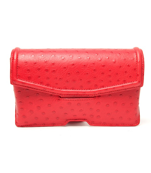 """I tend to wear darker colors in Fall, which also makes it the best time to inject a pop of color with a bright bag, like this Alexander Wang ostrich clutch. I think it'll look especially great against an LBD or gray jeans."" — Brittney Stephens, assistant editor Alexander Wang Ostrich Clutch ($425)"