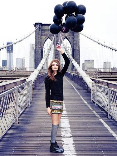 For H&M Divided, the campaign was shot with the iconic Brooklyn Bridge as its backdrop.