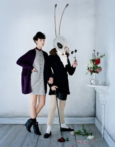 Leave it to Uniqlo to make life-sized bugs a chic part of its Fall campaign.