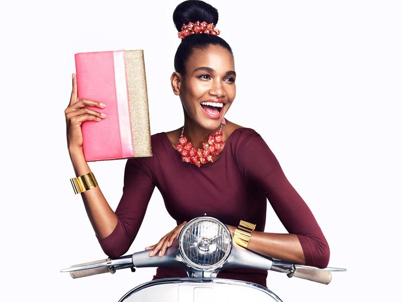Would you wear matching bejeweled pieces, as pictured here for H&M's accessory campaign?
