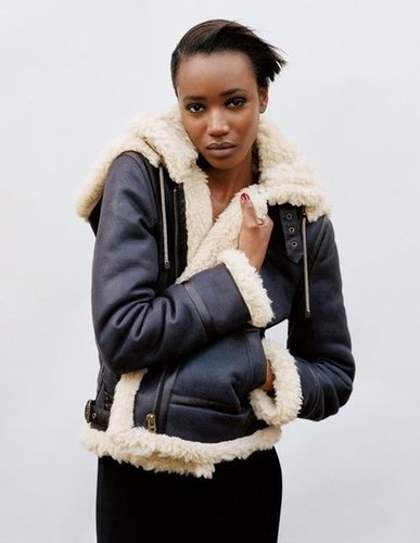 Aviator cool with a dash of leather for Topshop Fall 2012.