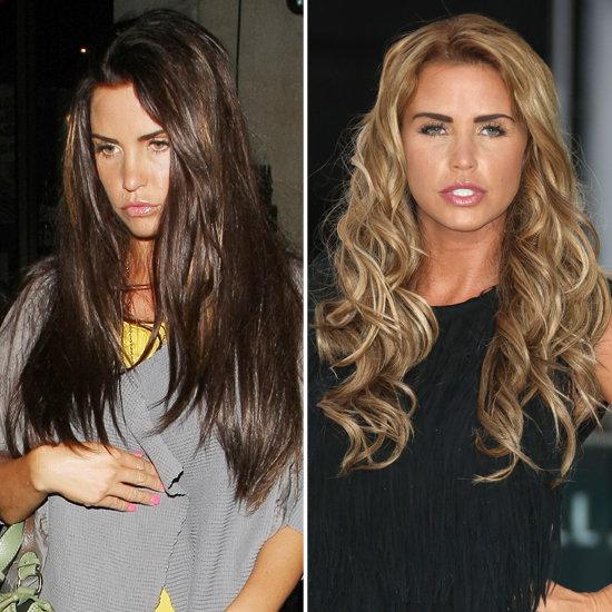 Katie price retourne du c t obscur la pr f rez vous en brune ou en blonde popsugar - Passer de blonde a brune ...