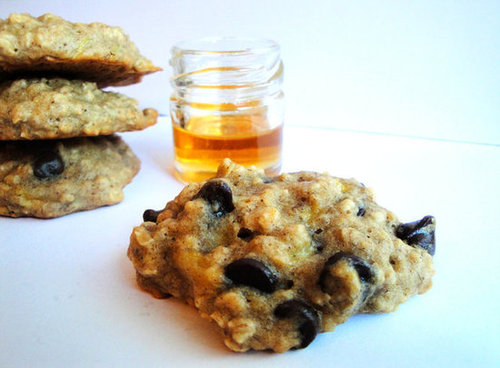 Banana Choc Chip Oatmeal Cookies