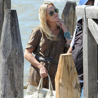 Kate Hudson Arrival at Venice Film Festival 2012 (Pictures)