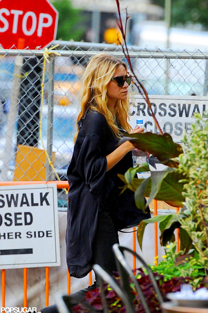 Ashley Olsen was out and about in NYC.
