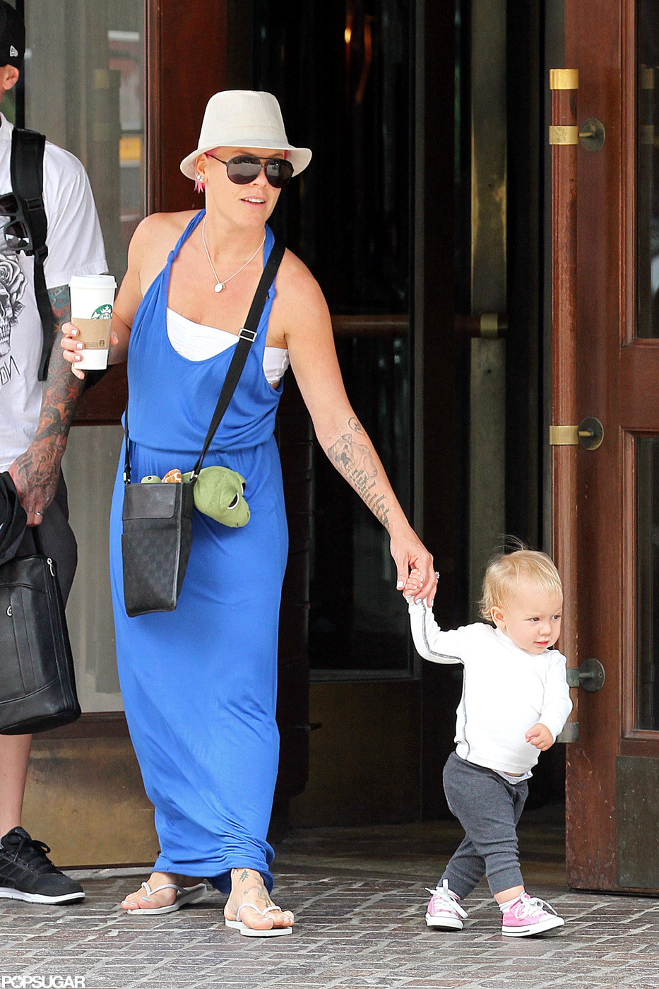 Pink and her daughter, Willow Hart, ventured to NYC together in July 2012.