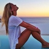Bar Refaeli soaked up the fresh air in Greece.  Source: Instagram User barrefaeli
