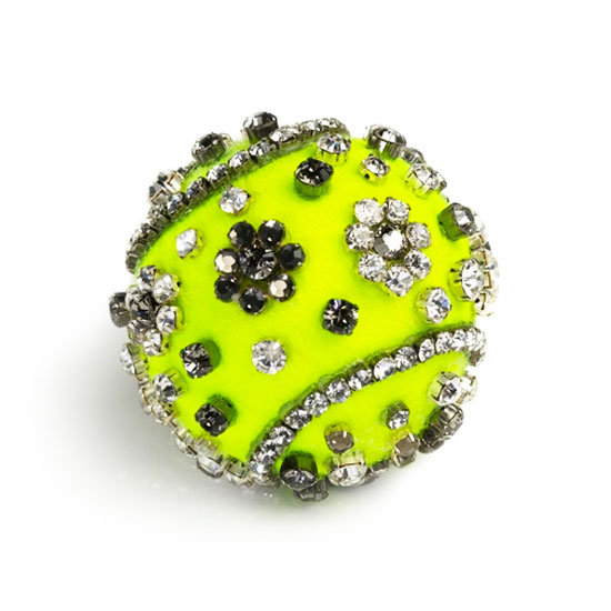 We're Obsessed With Vogue's Designer Tennis Balls