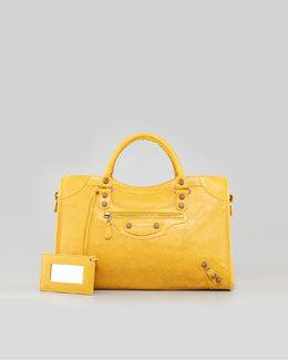 Balenciaga Giant 12 Rose Golden City Bag