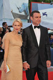 Naomi Watts and Liev Schreiber walked the red carpet at The Reluctant Fundamentalist premiere.