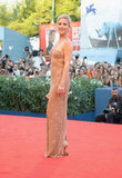 Kate Hudson wore Versace to the Venice Film Festival.