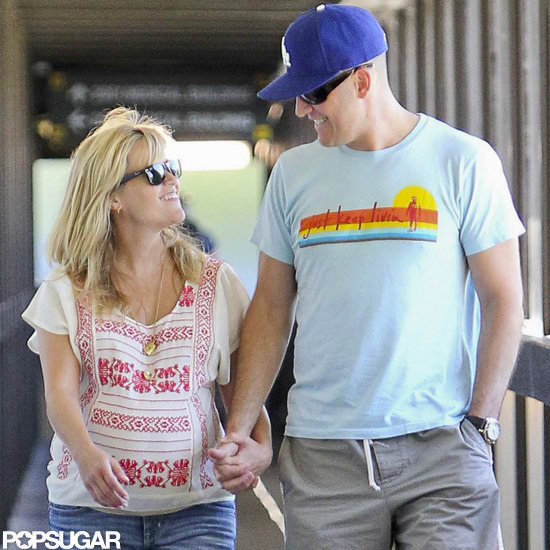 Reese Witherspoon and husband Jim Toth went out in LA.