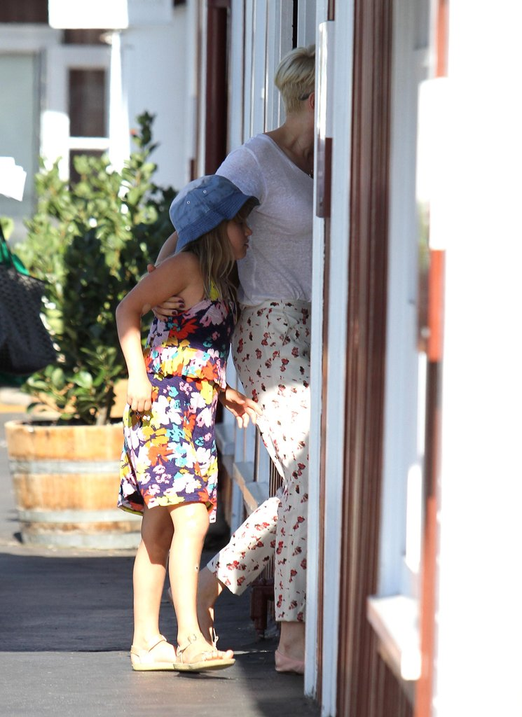 Michelle Williams and Matilda Ledger stopped for a sweet treat in LA.