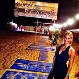 Bar Refaeli shared a photo from Love Beach.  Source: Instagram user barrefaeli