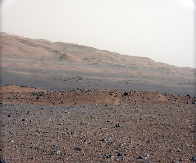 The rover's landing site.  Source: NASA