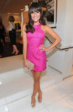 Lea went for a hot-pink Michael Kors mini at an event in 2011.