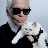 Choupette on Set: Karl's Kitten Visits His Net-a-Porter Shoot