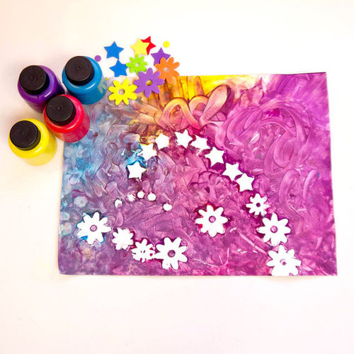 Finger Painting Crafts For Toddlers