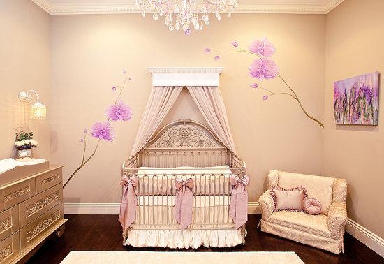 Melanie Brown's Chic Antique Nursery