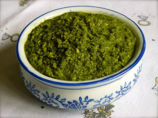 Coriander & Coconut Chutney by ZestyBaking