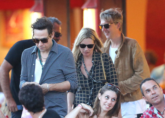 Kate Moss Explores the Saint-Tropez Nightlife With Jamie and Jefferson