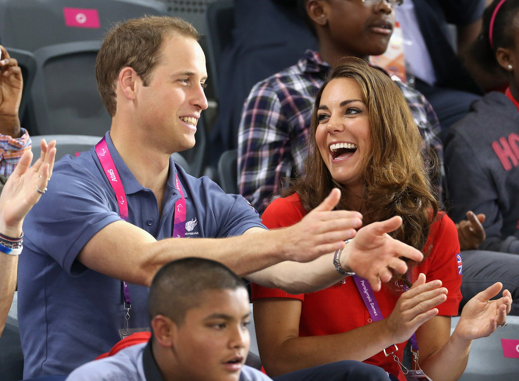 Prince William and Kate Middleton went to the Paralympics.