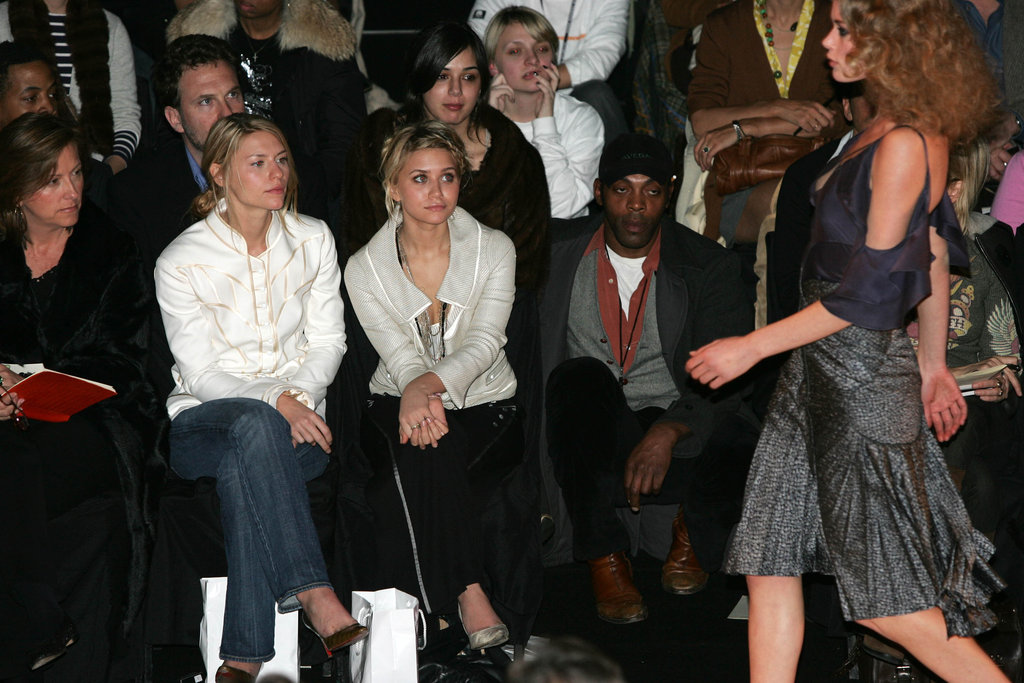 Claire Danes and Ashley Olsen attended the February 2005 Zac Posen in NYC.