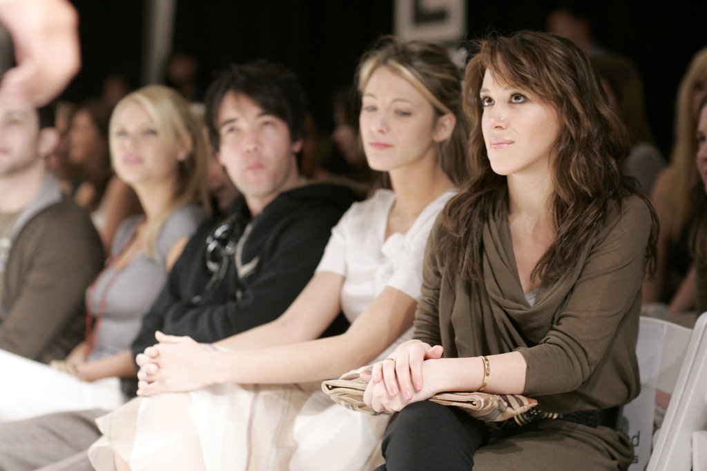 Blake Lively and Haylie Duff were together for a DKNY presentation at LA Fashion Week at Smashbox Studios in March 2006.