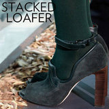 Stacked Loafer