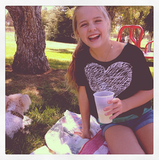 Jennie Garth took her daughter for a picnic in the park. Source: Instagram user jenniegarth