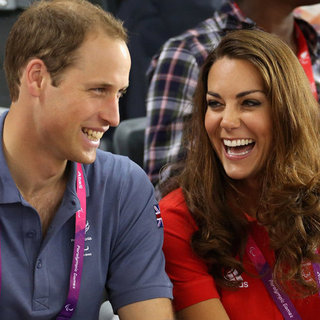 William and Kate at the 2012 Paralympics