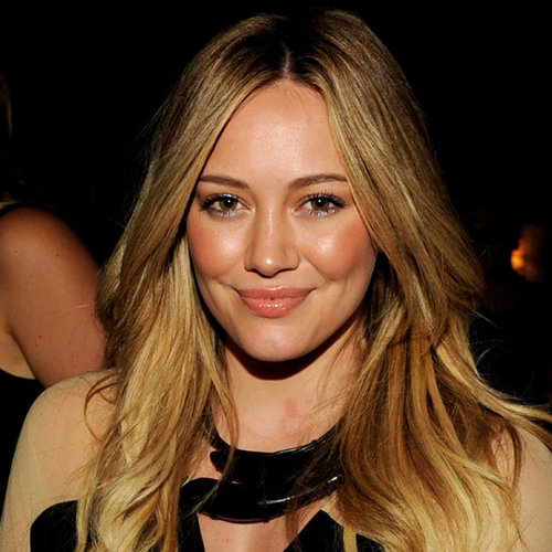 Trend Alert: Middle Parts, As Worn By Miranda Kerr, Hilary Duff & Rosie Huntington-Whiteley