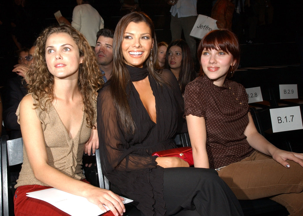 In September 2002, Keri Russell, Ali Landry, and Scarlett Johansson were in NYC to see BCBG Max Azria.