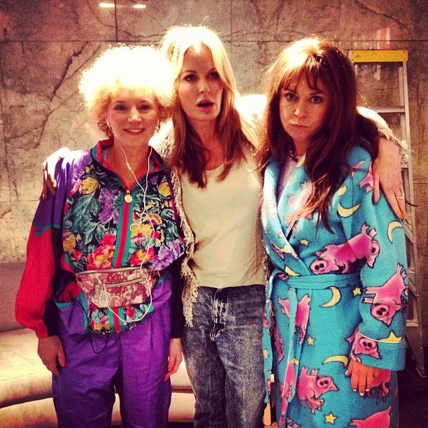 Charlotte Dawson caught up with Kath & Kimderella's foxy ladies Kath Day-Knight and Kim Craig. Source: Instagram user mscharlotted