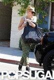 Gwen Stefani walked to her car.