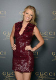 Blake Lively posed at the Gucci fragrance launch in Venice.