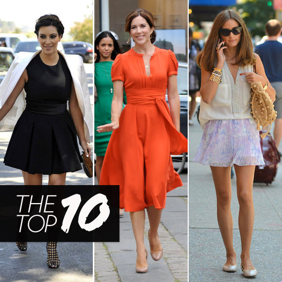 Top Ten Best Dressed of the Week: Kim, Olivia, Princess Mary & More