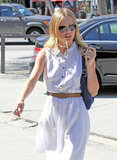 Kate Bosworth looked cute and casual in West Hollywood.