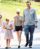 Michelle Williams and boyfriend Jason Segel treated Matilda, her daughter with the late Heath Ledger, to a day out at the Bronx Zoo on August 31.