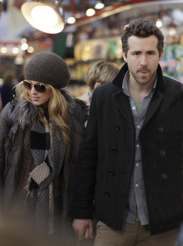 Blake Lively and Ryan Reynolds visited Vancouver in December 2011.