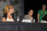 Blake Lively couldn't take her eyes off Ryan Reynolds during a press conference at WonderCon in April 2011.