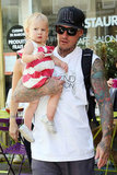 Pink and Carey Hart Show Willow the Sights of Paris