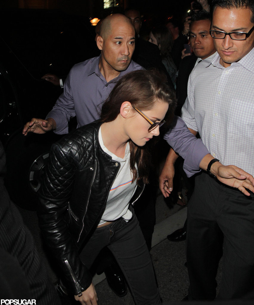 Kristen Stewart Parties, Then Heads Home From TIFF in Rob's Hat