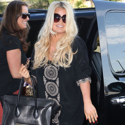 Jessica Simpson at Airport With Maxwell | Pictures