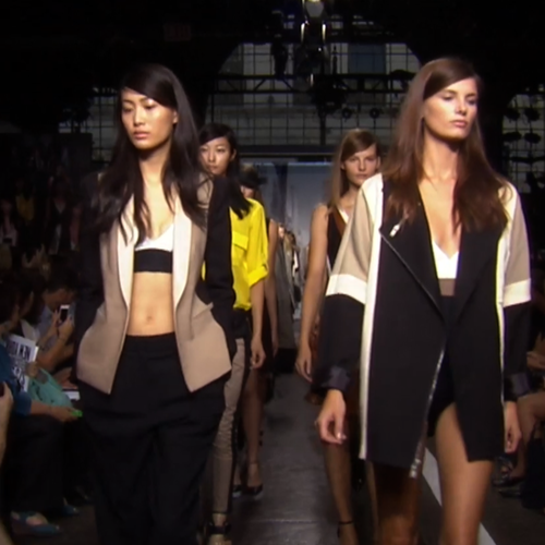Watch DKNY's Spring Summer 2013 New York Fashion Week Runway Show!